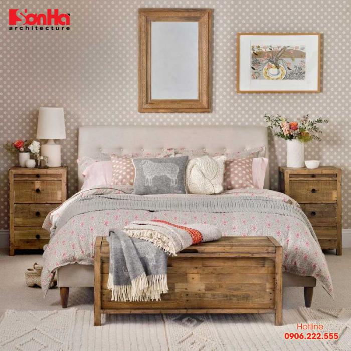 Không gian phòng ngủ đẹp phong cách Vintage đón đầu xu hướng 2019