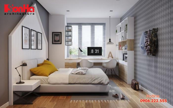 Ý tưởng thiết kế phòng ngủ hoàn hảo có nên bố trí vệ sinh khép kín