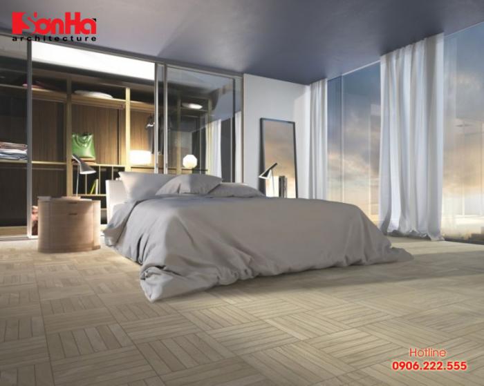 Hướng dẫn chọn mẫu gạch lát nền phòng ngủ đẹp có diện tích không lớn