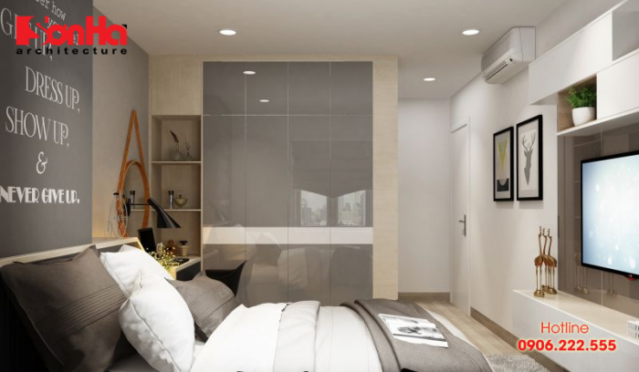 Thêm một phương án thiết kế nội thất hiện đại diện tích 18m2 cho nhà phố