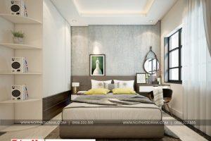 4 Mẫu nội thất phòng ngủ hiện đại 1 căn hộ chung cư wilton tower sài gòn