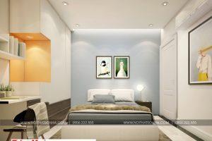 6 Mẫu nội thất phòng ngủ hiện đại 2 căn hộ chung cư wilton tower sài gòn