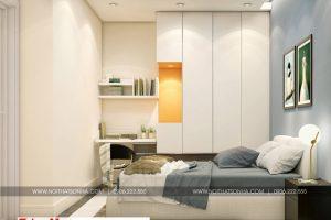 7 Thiết kế nội thất phòng ngủ 2 căn hộ chung cư wilton tower sài gòn