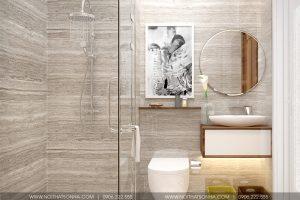 8 Mẫu nội thất phòng tắm wc hiện đại căn hộ chung cư wilton tower sài gòn