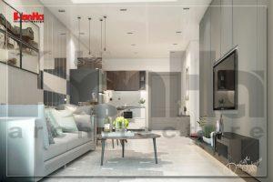 BÌA thiết kế nội thất hiện đại căn hộ wilton tower sài gòn