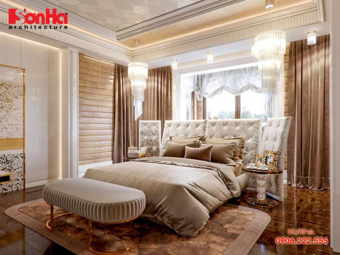 Đặt gương chiếu thẳng vào giường ngủ là điều đại kỵ trong thiết kế phòng ngủ