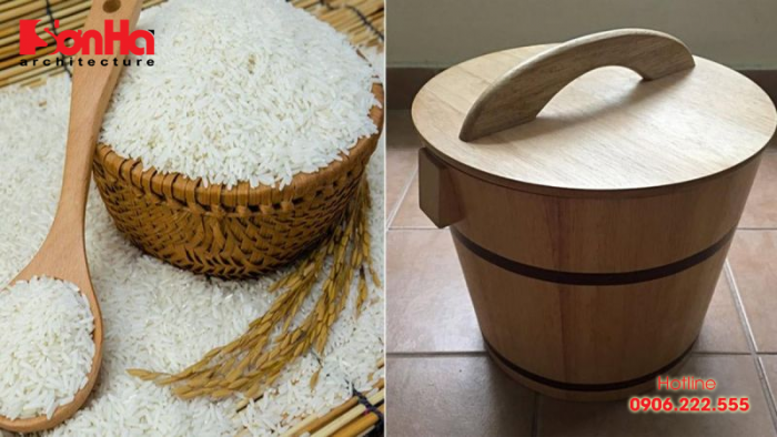 Gạo đại diện cho tài lộc, không có gạo tức là kho tiền của bạn chẳng có gì