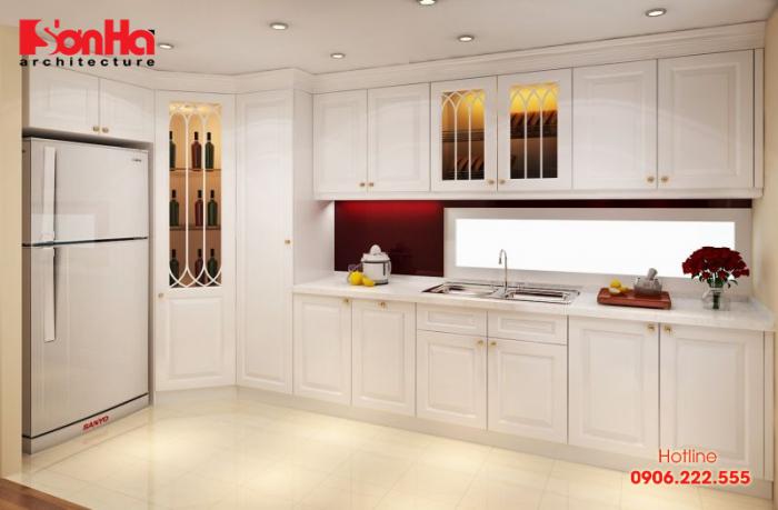 Gỗ tự nhiên sơn trắng là xu hướng chưa bao giờ lỗi mốt trong thiết kế nội thất
