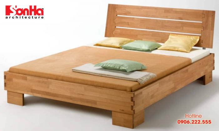 Mẫu giường ngủ đơn giản mà xinh xắn cho phòng ngủ đẹp