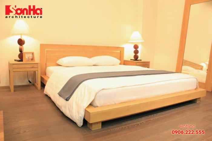 Thêm một mẫu giường ngủ gỗ nữa để bạn tham khảo
