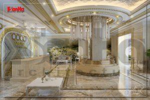 BÌA thiết kế nội thất khách sạn cổ điển 3 sao 6 tầng đẹp tại bắc ninh