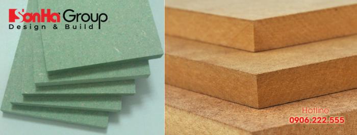 MDF có thành phần chính là gỗ tự nhiên được nghiền bằng máy tạo thành những sợi