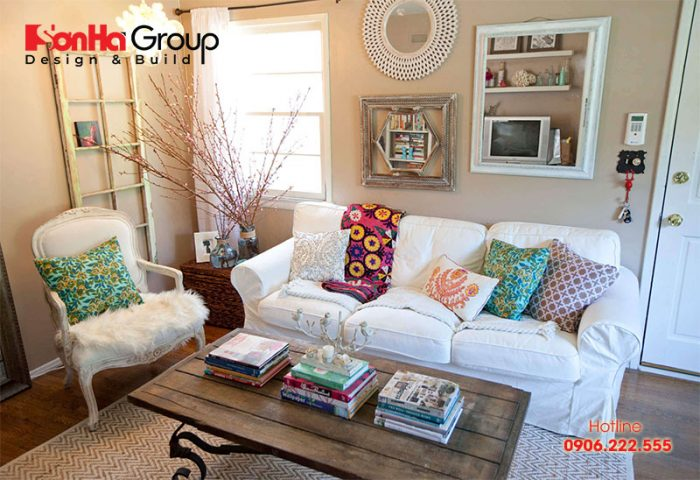Bàn ghế là sản phẩm nội thất cần thiết nhất trong phòng khách (Vintage)