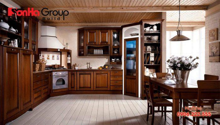 Chuyên gia thiết kế thi công nội thất tư vấn cách bố trí tủ bếp tuổi Tân Mùi