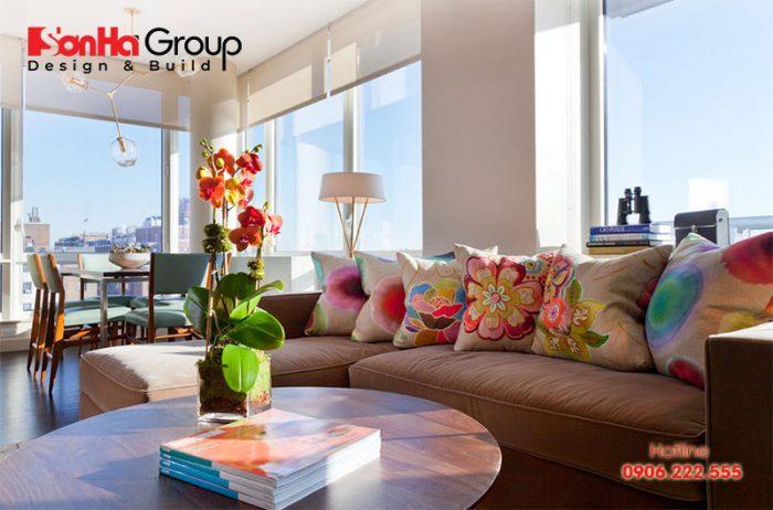 Một không gian tuyệt với từ cách trang trí phòng khách phong cách Vintage