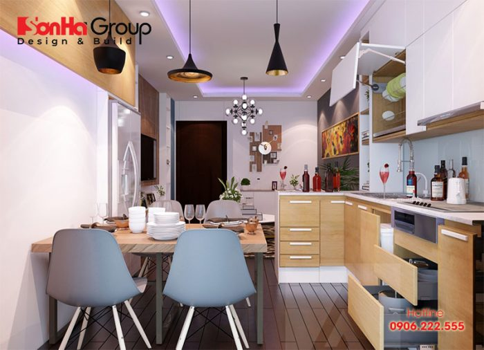 Xu hướng thiết kế bếp 2019 nói chung và bếp chung cư nói riêng có những điểm mới