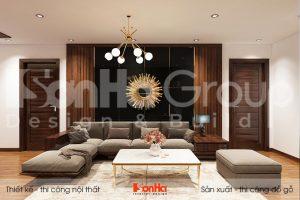 BIA nội thất căn hộ chung cư hiện đại sang trọng