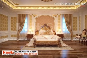 10 Mẫu nội thất phòng ngủ vip 1 kiểu cổ điển tại long an sh btld 0041