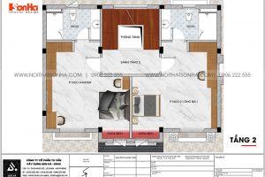 13 Mặt bằng tầng 2 biệt thự tân cổ điển 3 tầng tại vinhomes imperia hải phòng