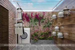 14 Bố trí nội thất sân giặt phơi đẹp mắt tại khu đô thị vinhomes imperia hải phòng