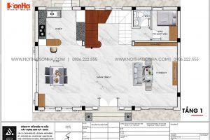 18 Bản vẽ tầng 1 biệt thự tân cổ điển đẹp tại khu đô thị vinhomes imperia hải phòng