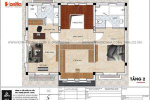 19 Mặt bằng tầng 2 biệt thự tân cổ điển 3 tầng tại khu đô thị vinhomes imperia hải phòng