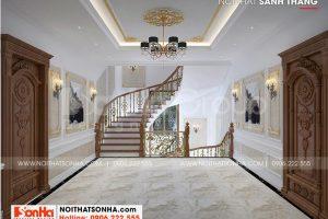 19 Thiết kế sảnh thang đẹp tầng 2 tại long an sh btld 0041
