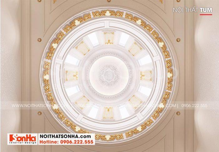 Chiêm ngưỡng cận cảnh hệ thống mái vòm được trang trí tinh xảo từ vật liệu cao cấp