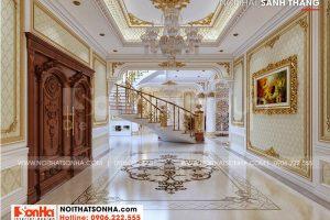 8 Bố trí nội thất sảnh tầng 1 đẹp tại long an sh btld 0041