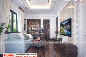 9 Bố trí nội thất phòng giải trí kiểu tân cổ điển tại khu đô thị vinhomes imperia hải phòng