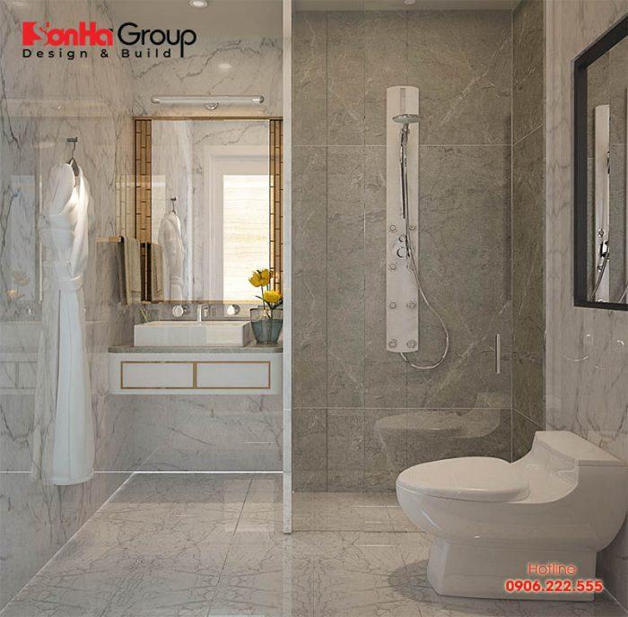 Không nên đặt nhà vệ sinh ở trung tâm của ngôi nhà để tránh khí uế làm ảnh hưởng đến sinh khí