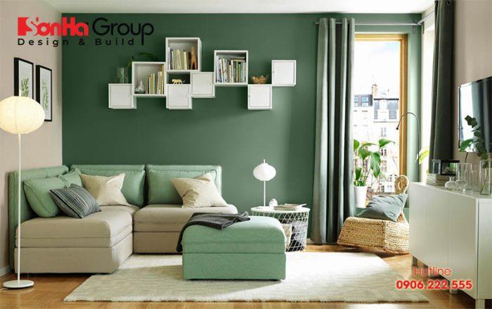 Cách lựa chọn màu sắc chủ đạo cho phòng khách theo phong thủy