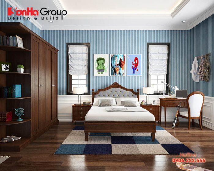 Cách trang trí phòng ngủ đầy sáng tạo cho bé trai theo các độ tuổi