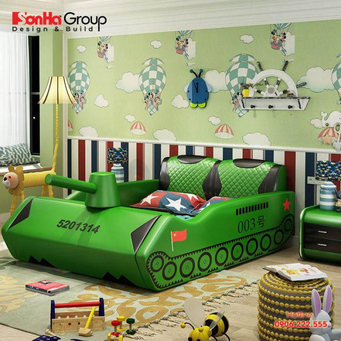 Ý tưởng trang trí phòng ngủ theo đúng nguyện vọng của trẻ