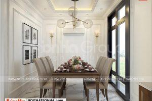 2 Thiết kế nội thất phòng ăn cao cấp tại vinhomes marian vhi