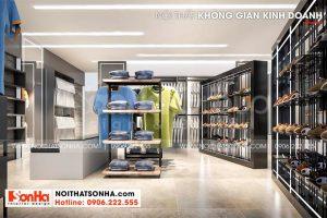 12 Thiết kế nội thất không gian kinh doanh cao cấp tại hải phòng sh nod 0218