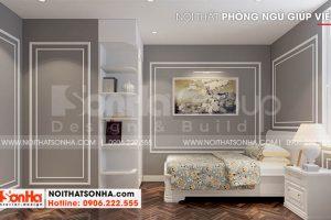 12 Thiết kế nội thất phòng ngủ giúp việc đẹp tại hà nội sh btp 0151