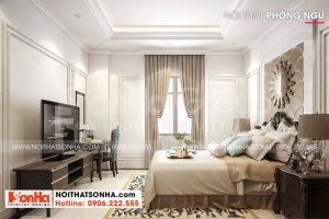 16 Bố trí nội thất phòng ngủ quý phái tại hải phòng sh nod 0218