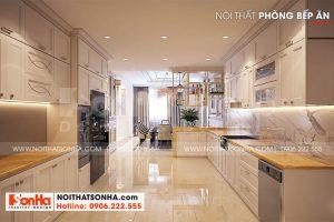 5 Trang trí nội thất phòng bếp ăn đẹp tại hà nội sh btp 0151
