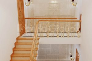 11 Thiết kế nội thất sảnh thang nhà ống hiện đại tại sài gòn sh nod 0222