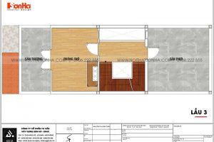 16 Mặt bằng lầu 3 nhà ống kiểu hiện đại tại sài gòn sh nod 0222