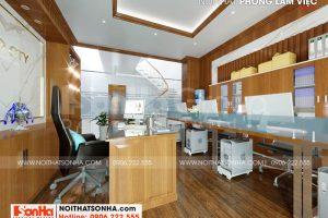 6 Thiết kế nội thất phòng làm việc chuyên nghiệp tại sài gòn sh nod 0222