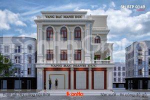 BÌA thiết kế biệt thự tân cổ điển kết hợp kinh doanh tại hải phòng sh btp 0149